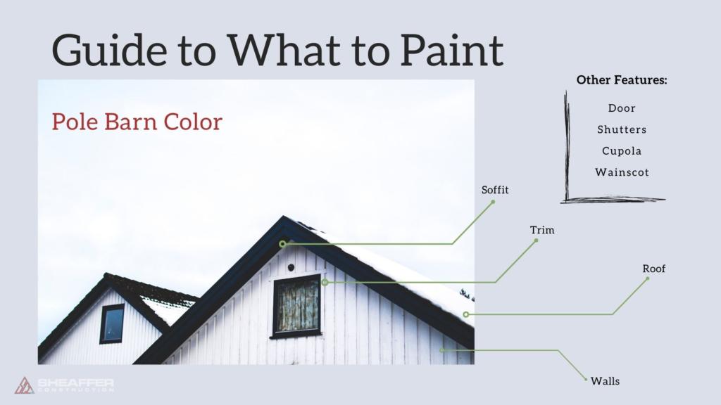 pole barn color guide