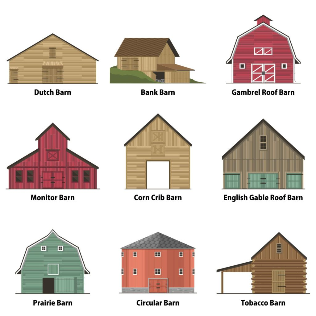 types of barns